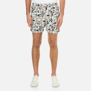 Selected Homme Men's Sunset Swim Shorts - Mahogony Rose
