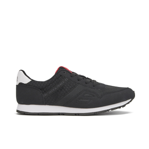 Jack & Jones Men's Fayette Mesh Trainers - Anthracite