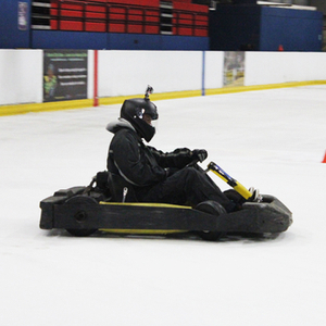 Karting on Ice for Two