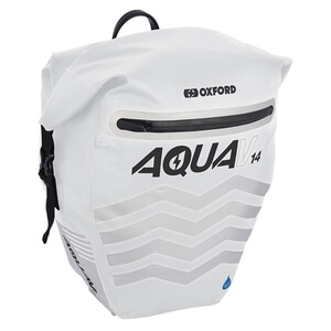 Oxford Aqua V 14L Pannier - White