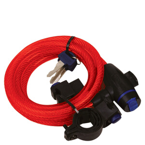 Oxford Red Cable Lock