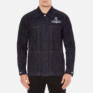 Vivienne Westwood Anglomania Men's Workers Jacket - Blue Denim