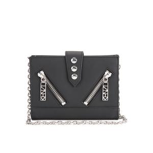 KENZO Women's Kalifornia Wallet on a Chain Crossbody Bag - Black