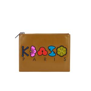 KENZO Women's Occassions A4 Clutch - Tan