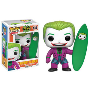 DC Comics Batman Classic 1966 TV Series Surf's Up Joker Funko Pop! Vinyl