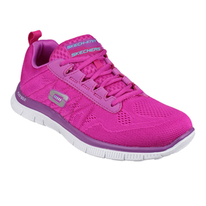 Skechers Women's Flex Appeal Sweet Spot Low Top Trainers - Pink