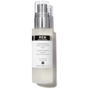 REN Clean Skincare Flash Defence Anti-Pollution Mist 60ml