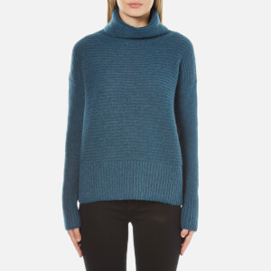 BOSS Orange Women's Wilke Roll Neck Jumper - Green