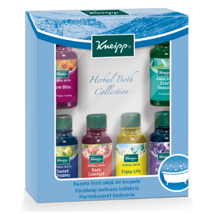 Collection d'huiles de bain Kneipp (6 x 20 ml)