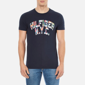 Tommy Hilfiger Men's Felix Logo T-Shirt - Navy Blazer