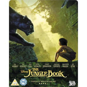 The Jungle Book 3D (Includes 2D Version) - Zavvi UK Exclusive Limited Edition Steelbook