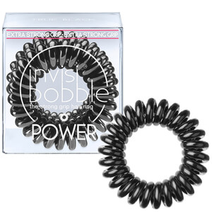 invisibobble Power -hiuslenkki (3 kpl), True Black