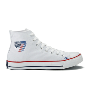 Superdry Men's Retro Sport High Top Trainers - White