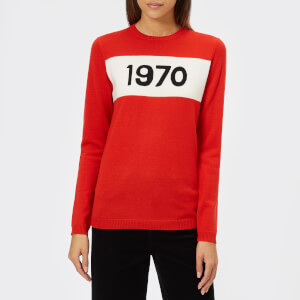 Bella Freud Women's 1970 Jumper Wool Jumper - Red