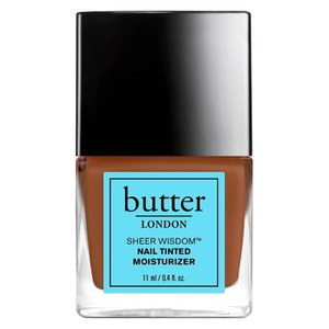 butter LONDON Sheer Wisdom Nail Tinted Moisturiser 11 ml - Deep