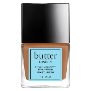 butter LONDON Sheer Wisdom Nail Tinted Moisturiser 11 ml - Tan
