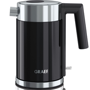 Graef WK402.UK Compact 1L Kettle - Black