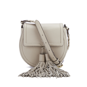 Rebecca Minkoff Women's Isobel Tassel Saddle Crossbody Bag - Khaki