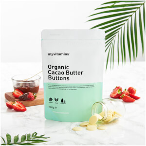 Organic Cacao Butter Buttons - 300g