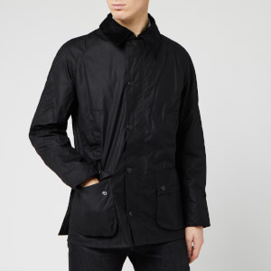 Barbour Heritage Men's Ashby Waxed Jacket - Black