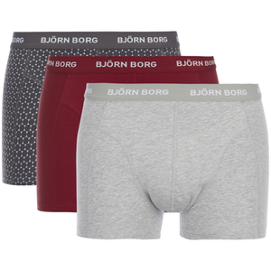 Bjorn Borg Men's BB Dot Boxer Shorts - Asphalt