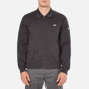 OBEY Clothing Men's Slacker Gas Station Jacket - Graphite
