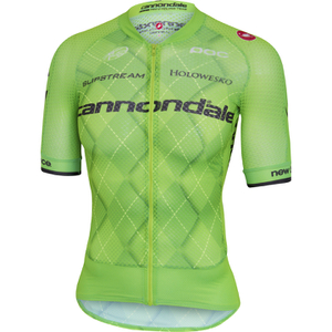 Castelli Cannondale Pro Cycling Team Climbers 2.0 Short Sleeve Jersey - Green