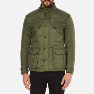 Barbour International Men's Ariel Polarquilt Jacket - Olive