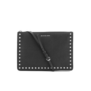 MICHAEL MICHAEL KORS Ava Stud Clutch Bag - Black
