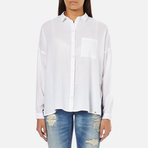 Superdry Women's Santorini Boyfriend Shirt - Optic White