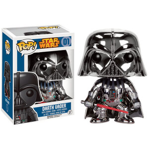 Star Wars Chrome Darth Vader Pop! Vinyl Figure
