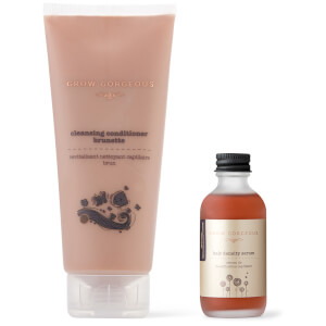 Grow Gorgeous Hair Density Serum and Cleansing Conditioner Brunette Prismatic (Worth $83)