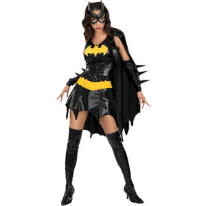 DC Comics Women's Deluxe Batgirl Fancy Dress