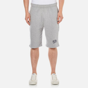 Billionaire Boys Club Men's Small Arch Logo Sweat Shorts - Heather Grey