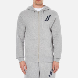 Billionaire Boys Club Men's Zip Through Hoody - Heather Grey