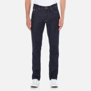 GANT Men's Straight Fit Denim Jeans - Dark Blue
