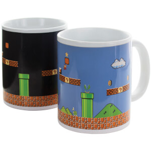 Super Mario Bros. Build A Level Mug - Blue