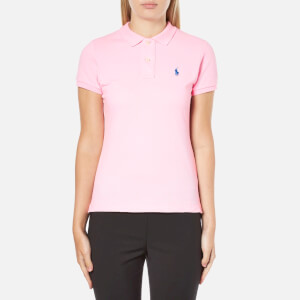 Polo Ralph Lauren Women's Skinny Fit Polo Shirt - Tailor Rose Pink