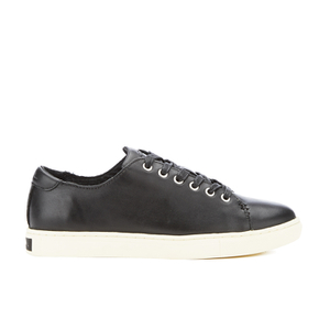 Lauren Ralph Lauren Women's Waverly Leather Trainers - Black