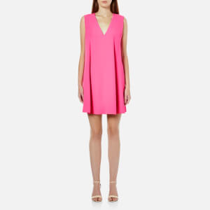 McQ Alexander McQueen Women's Flared Tank Dress - Shocking Pink