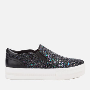 Ash Women's Jungle Bis Slip-On Trainers - Midnight/Black