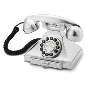 GPO Retro 1929S Classic Carrington Push Button Telephone - Chrome