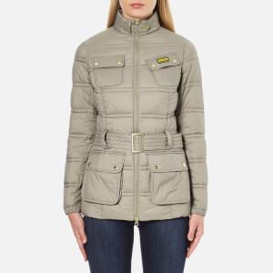 Barbour International Women's Pannier Baffle Quilt Jacket - Taupe