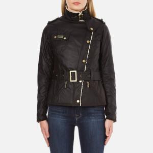 Barbour International Women's Matlock Wax Jacket - Brown