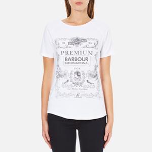 Barbour International Women's Charade T-Shirt - White