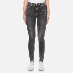 Cheap Monday Women's High Spray Jeans - Grey
