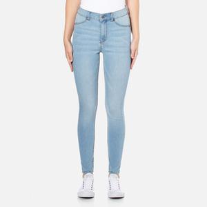 Cheap Monday Women's High Spray Jeans - Stone Bleach