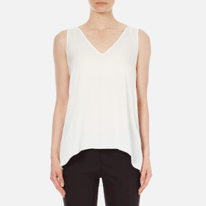 Theory Womens Narcyz Silk Top