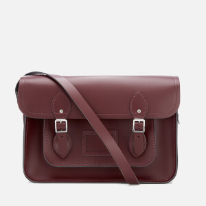 The Cambridge Satchel Company Women's 14 Inch Magnetic Satchel - Oxblood