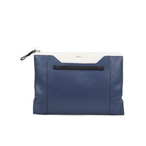 Furla Women's Fantasia XL Pochette Clutch Bag - Blue